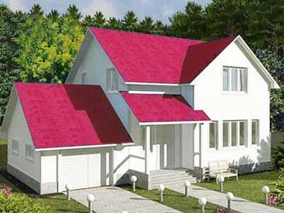 Различные конструкции дачных домов.