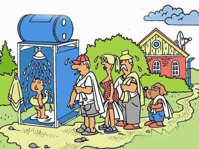 Как сделать водопровод на садовом участке (часть 2).