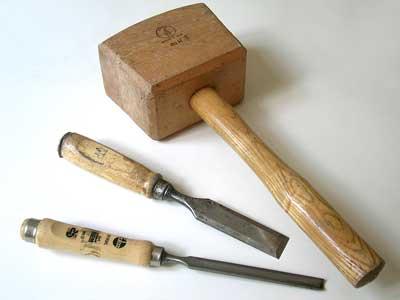 Инструменты и оборудование: инструменты для долбления