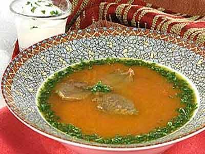 Суп-пюре карри