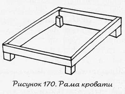 Мебель для сада: кровать